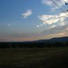 northwest edge of the valley.