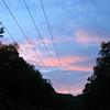 powerline alpenglow.