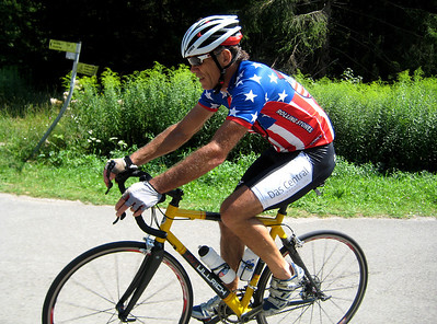 Frank Woerndl in action during the Bikedress Rapha Ride 2013.