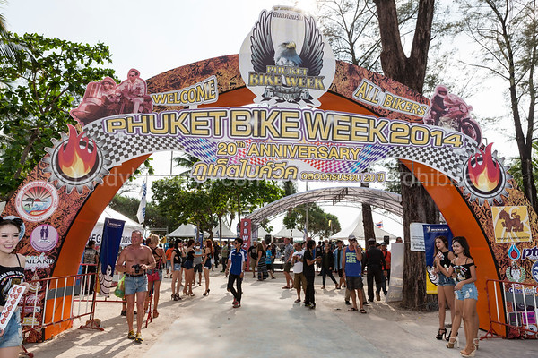 20th Phuket Bike Week 2014 11. - 14. April