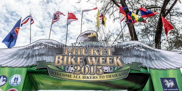21th Phuket Bike Week 2015 12. April