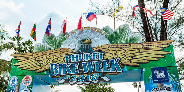 22th Phuket Bike Week 2016 8. - 9. April