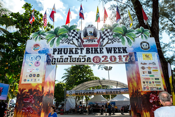 23th Phuket Bike Week 2017 14. April