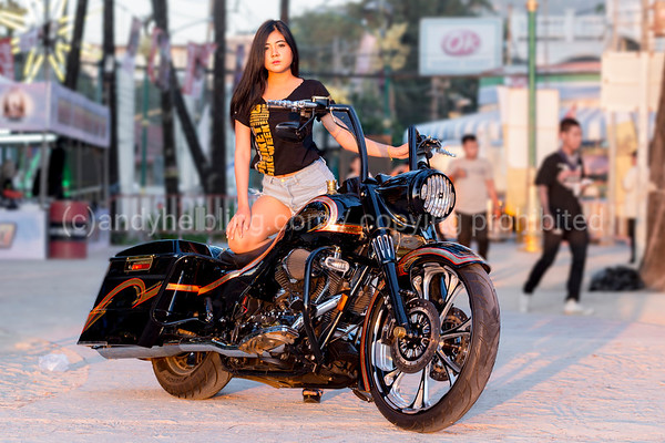 23th Phuket Bike Week 2017 16. April