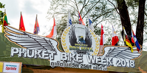 24th Phuket Bike Week 2018 11. April