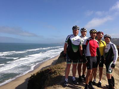 Biking to the Coast, May 2013