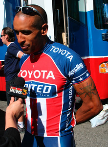//www.toyota-united.com/index.php?option=com_content&task=view&id=43&Itemid=46  Toyota-United's number one sprinter, Ivan Dominguez, began cycling at age 13 and has been racing competitively for the past 15 years. Born and raised in Havana, Cuba, Dominguez is a two-time Pan-Am Games Gold Medalist and former Cuban National Champion. He is still the country's current 4 km record-holder, a title he has owned since 1997.
