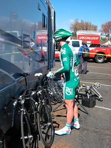 Credit Agricole rider
