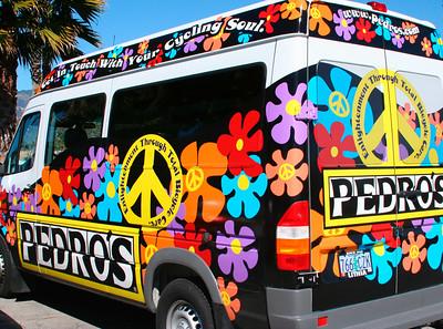 Pedro's biodiesel van www.pedros.com