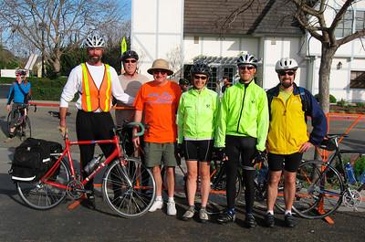 Biker friends from Santa Barbara