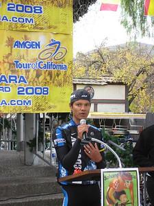 Pro-cyclist Tony Cruz