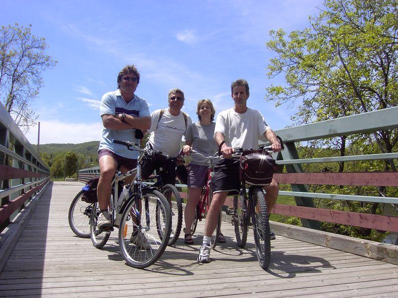 Sur le pont de Piedmont