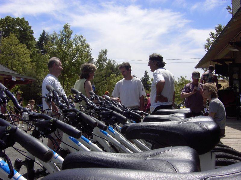 Vue de les bicycles