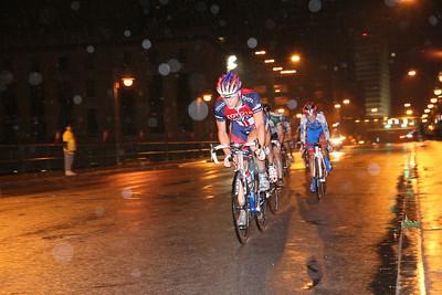 Winner last lap 2008 Rochester Criterium Bike race