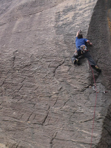 The desperate clip Heaven Seven Eleven(22) at Mt Fox the Grampians