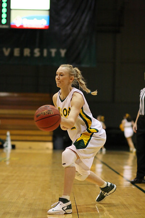 NDSU vs. Oakland 2008, Women's
