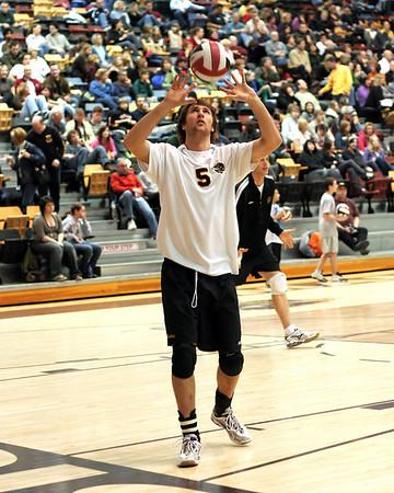 Bison Mens Volleyball 2007-08