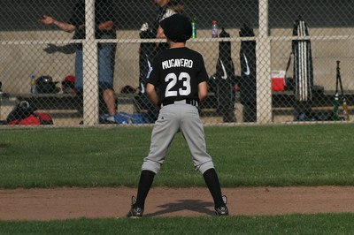 Black Sox V. Lumberjacks, 6/8/9 (L 6-2)