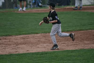 Black Sox V. VFW, 5/6/9 (W 6-1)