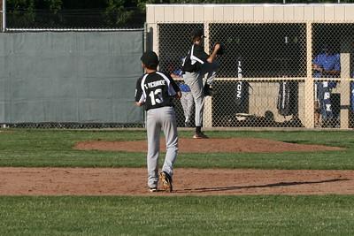 Black Sox v VFW, game 1 play-offs, 6/11/10, W 5-2