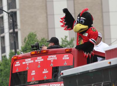 Blackhawks Cup Parade 2015