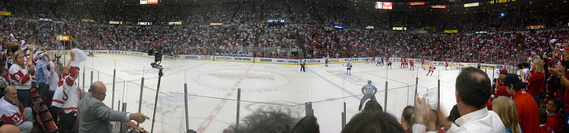 Playoffs: Blackhawks at Red Wings 2009