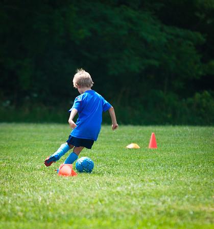 Blake soccer camp