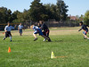 In this play Blake intercepts the ball.............good job Blake!