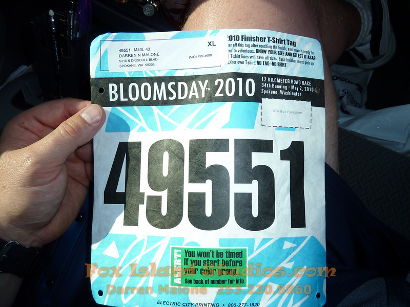 Bloomsday Run Spokane WA Sister Sharon Nieces Alex Dani Taylor 010