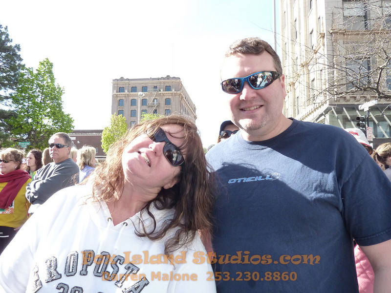 Bloomsday Run Spokane WA Sister Sharon Nieces Alex Dani Taylor 027