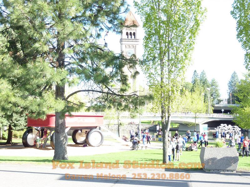 Bloomsday Run Spokane WA Sister Sharon Nieces Alex Dani Taylor 018