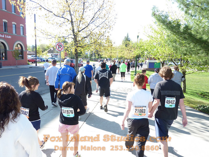 Bloomsday Run Spokane WA Sister Sharon Nieces Alex Dani Taylor 015