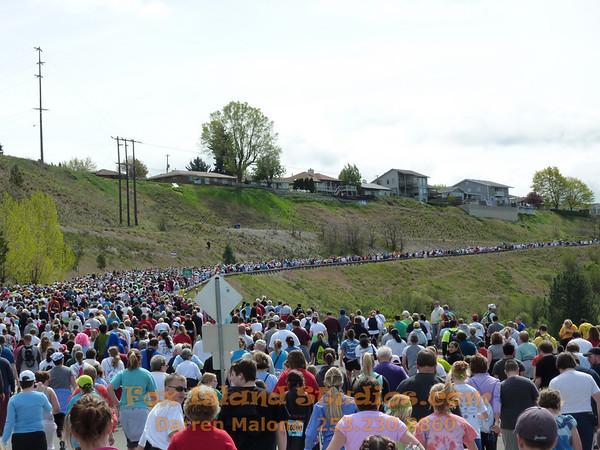 Bloomsday 7.5mi Race 2010 Spokane WA Famouse 50K People!
