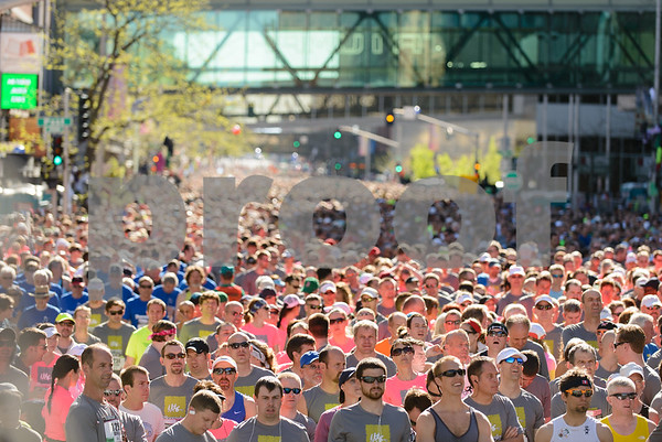 Bloomsday Starting Line Photos