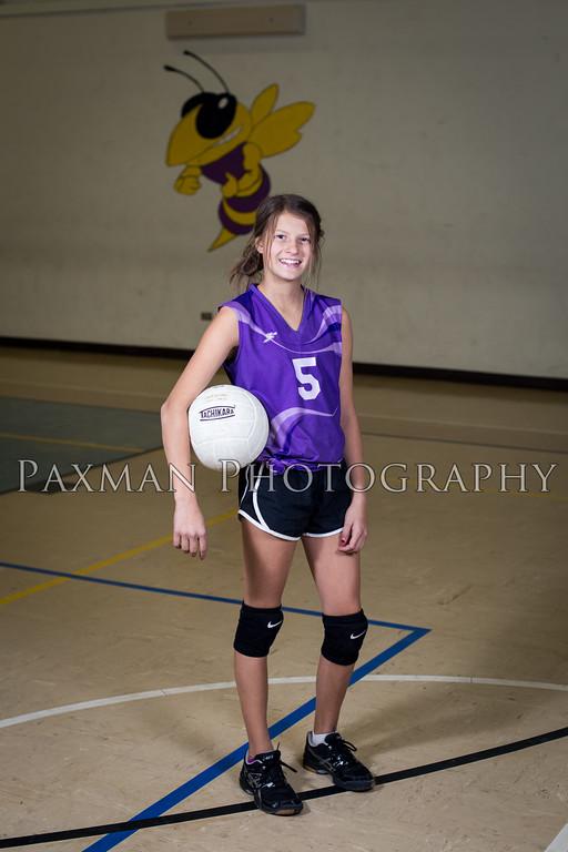 2017 8th Grade Volleyball