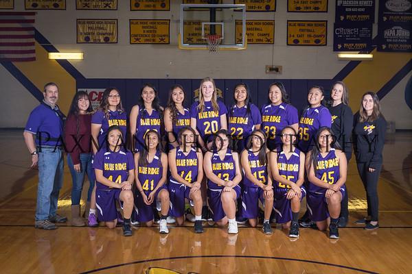 2017 Girls Jv Basketball
