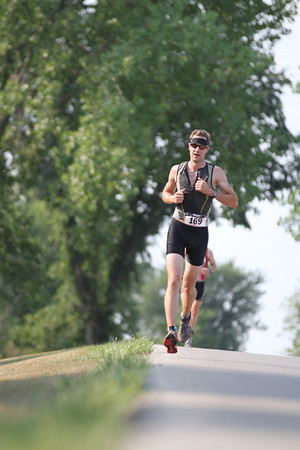 Bluff Creek Triathlon, Run