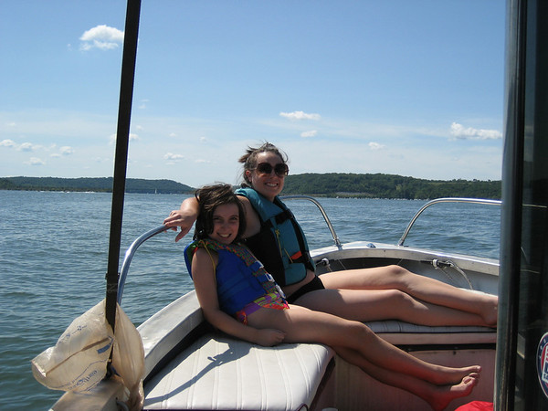 080816 - Boating - Missy - Jordan - Michelle - Emily