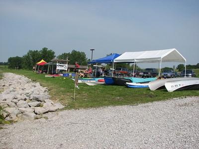 2014 Iowa Games Canoe/Kayak Races - Ada Hayden Park, Ames