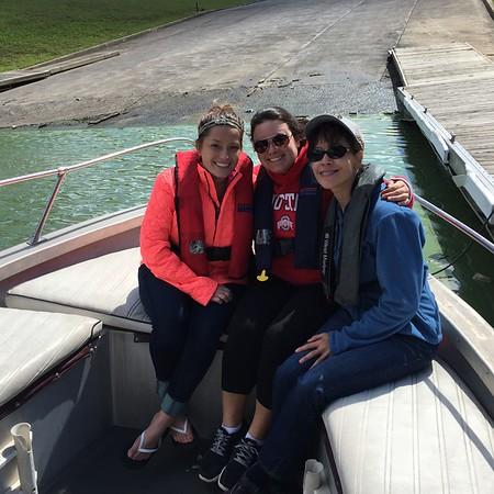 Boating - 9/13/15 - Danielle Schrenk, Brooke Rosen, Michelle Glazer