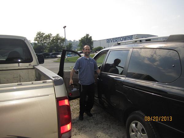 Ohio River Boating with Rabbi Yitzchok & Rivka Preis, Aug. 20, 2013