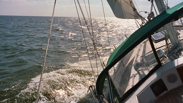 Sailing with Ashley Farnet - Pass Christian, MS  April 27, 2004