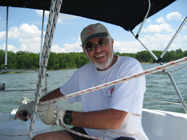 Sailing with Walter Frank, June 1, 2008