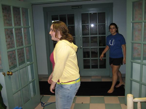 Tubing with Michelle, Addie, & Randy - June 7, 2008