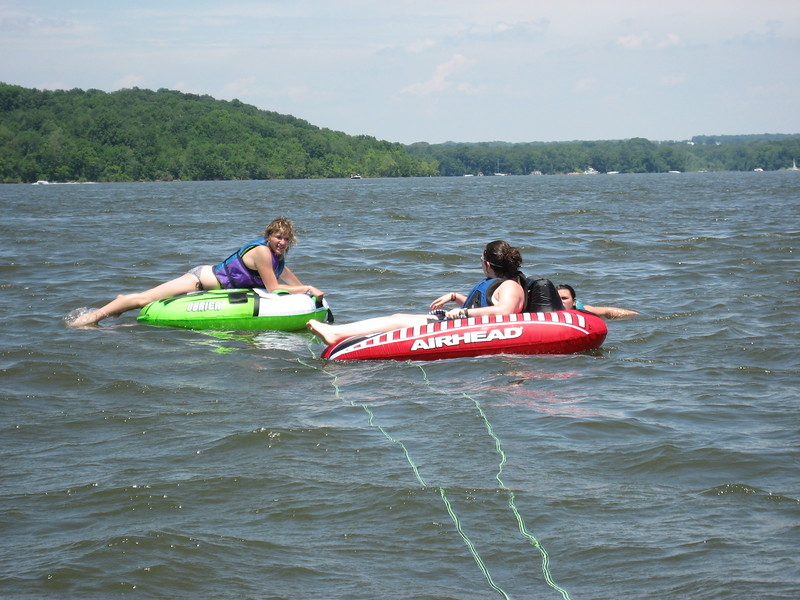 Tubing with Michelle, Hoffman, & Reiser - June 15, 2008