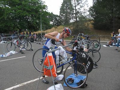 Bob Auburn Triathlon May 2006