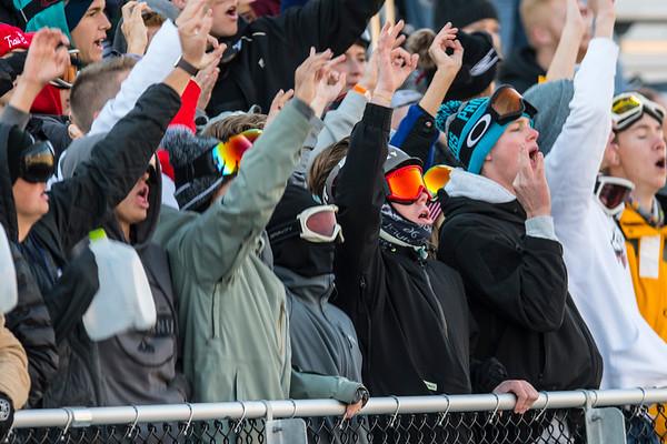 Bonnevile takes on Farmington High School during the prep football game. In Farmington on Friday November 1, 2019.