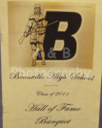 Boonville HIgh School 2011 Hall of Fame