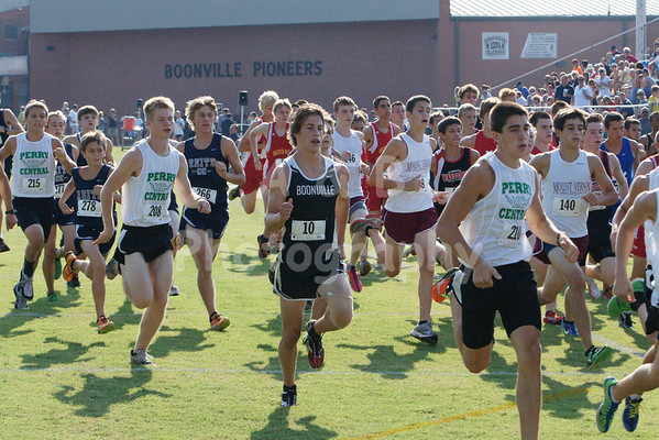 Boonville Cross Country 2012-13