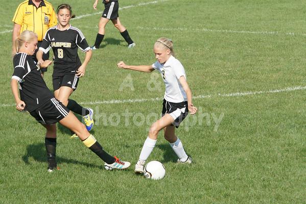 Boonville Girls Soccer 2012-13